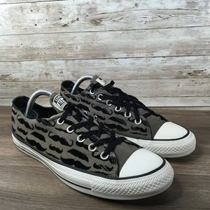 Converse All Star Low Top Mustache